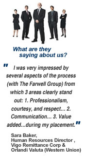 Click here to read more testimonials